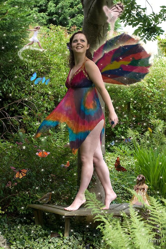 Multi-coloured fairy magic by Harri