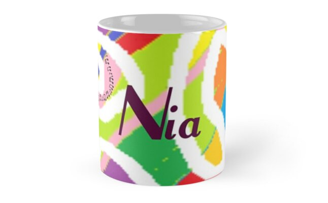 Nia - original artwork to personalize your gift by myfavourite8