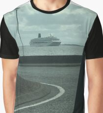 Ship into Galway bay  Graphic T-Shirt