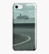 Ship into Galway bay  iPhone Case/Skin