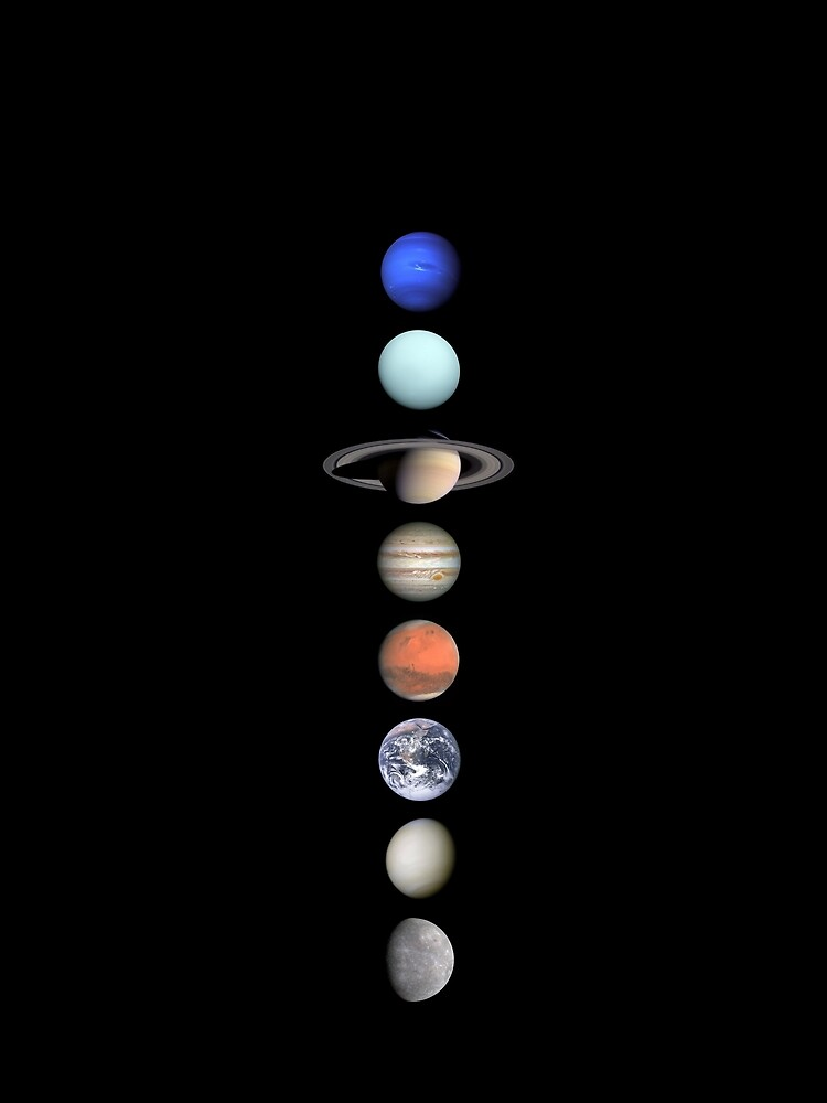 Solar System 8 Planets Aligned by johnnewman2006