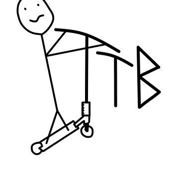 Cartoon TTB Scooter by tothebone