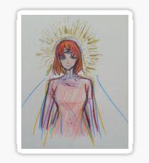 Self Portrait- Lucy in the Sky Sticker