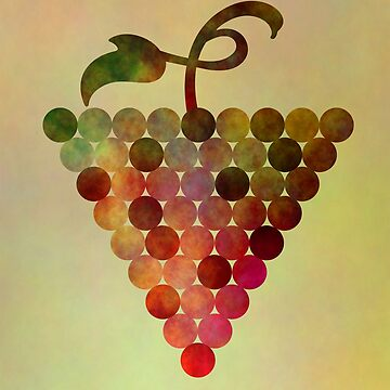 Grapes Illustration Design by MyBloomingBook