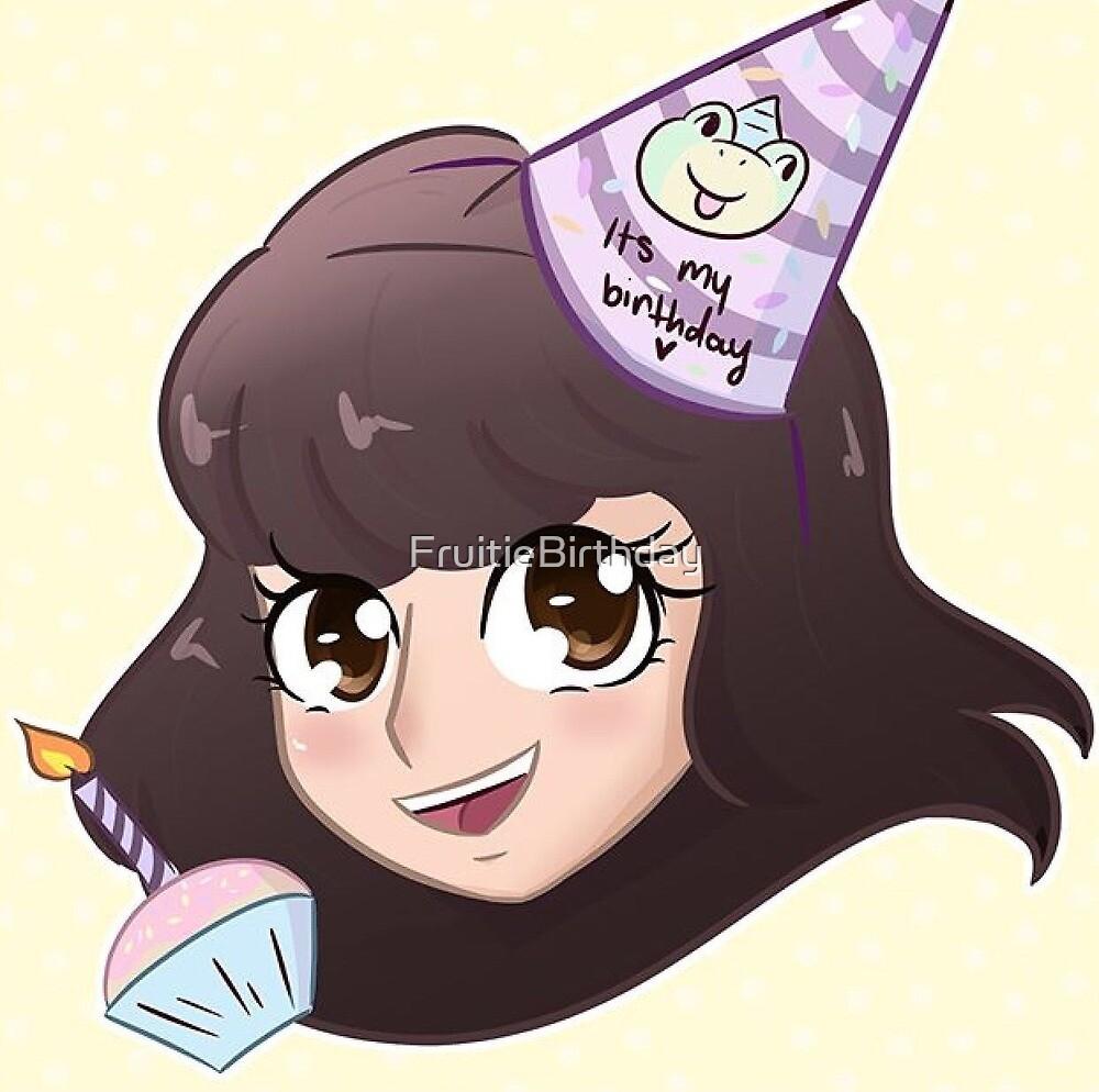 It's my birthday my birthday froggo hat by FruitieBirthday