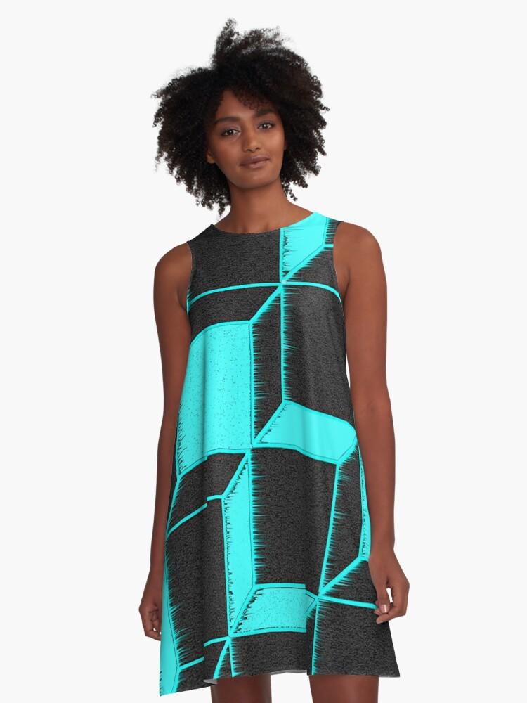 Cubetron  A-Line Dress Front