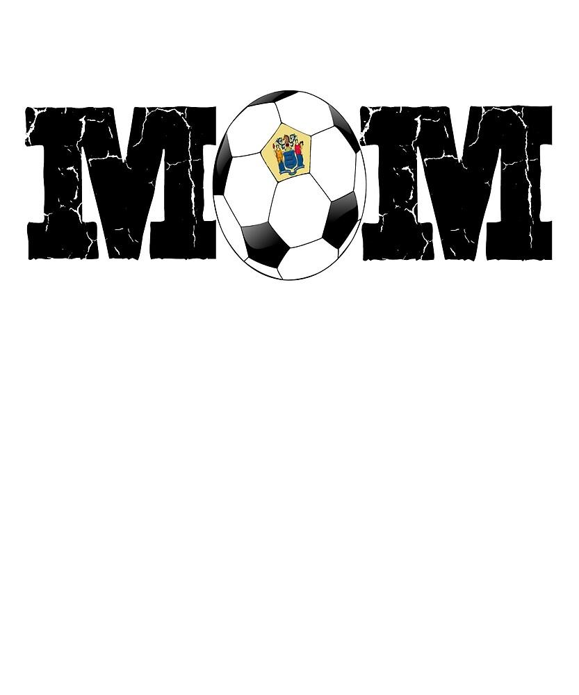 New Jersey Soccer Mom Travel Shirt by WARRENEXCHANGE