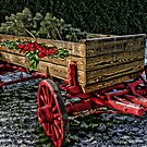 Yuletide Wagon by Patricia Montgomery