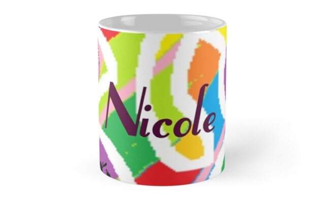 Nicole - original artwork to personalize your gift by myfavourite8