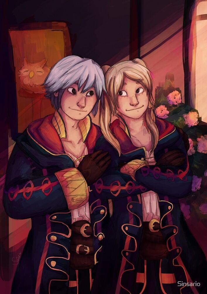 Robin and Robin by Sinsario