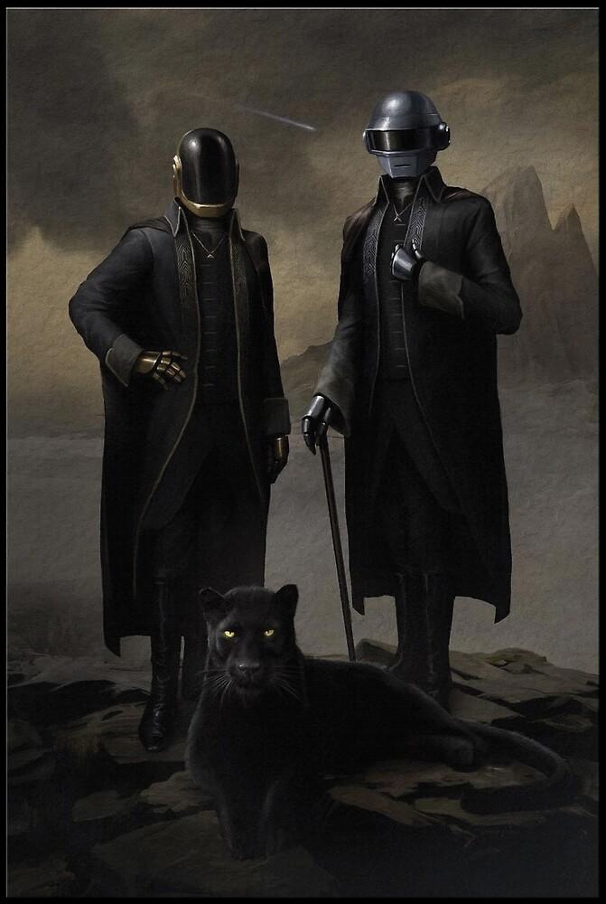 Daft Punk Starboy  by 16TonPress