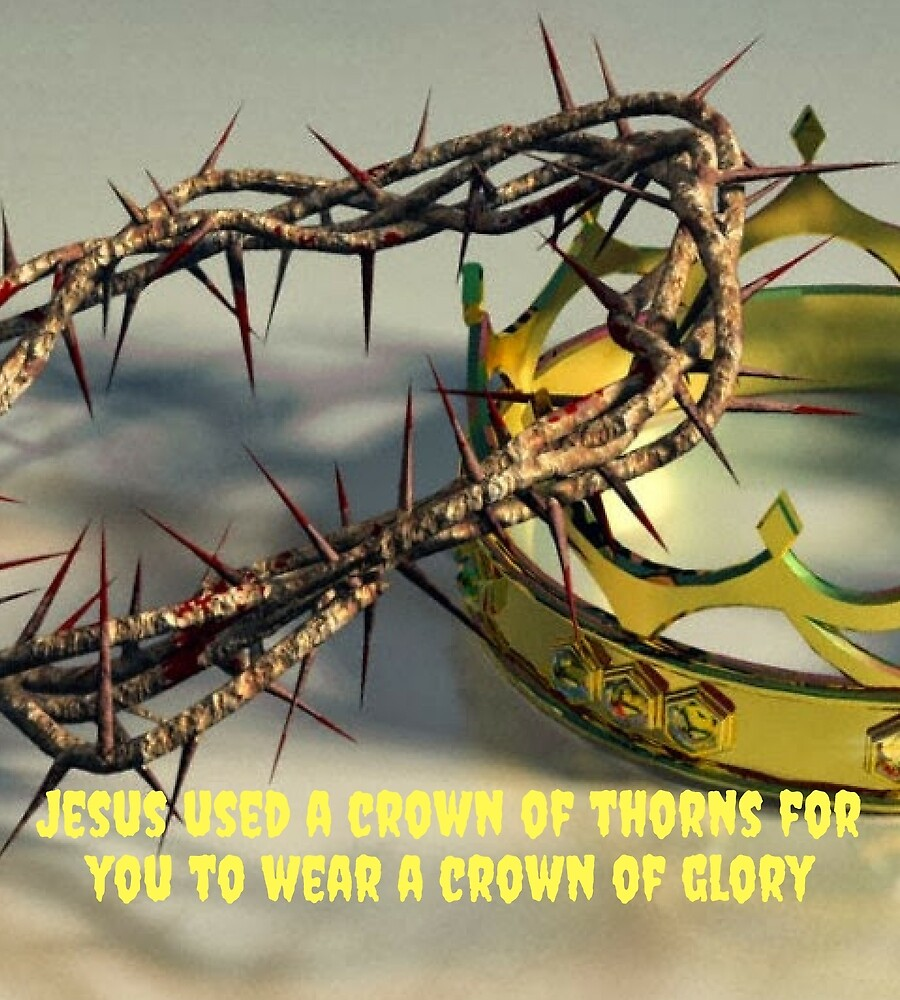 Large print garments JESUS USED GLORY CROWN FOR VC USA CROWN OF GLORY by fernando2017