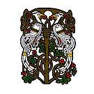 Celtic Knotwork Tree Of Life by Antony Potts