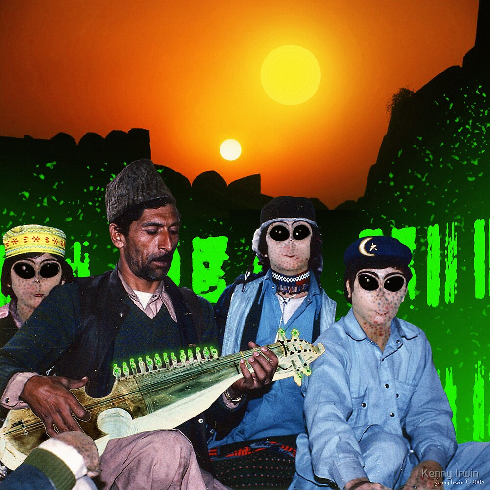 The Zeta Reticuli just love the Latest Pulsatronic Sitar Music of Earth by Kenny Irwin