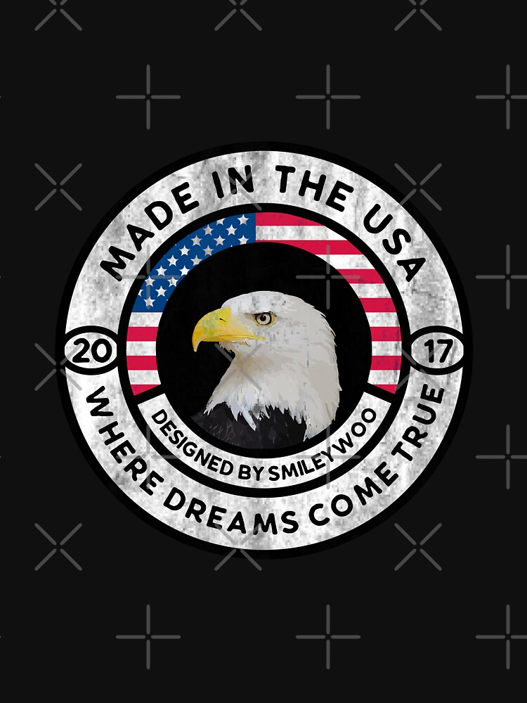 Made in the USA - 2017 - Where Dreams Come True by jamescrowe1987