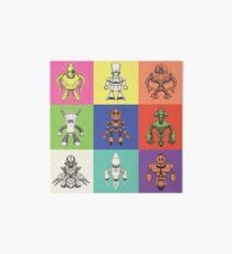 Color Robots Art Board