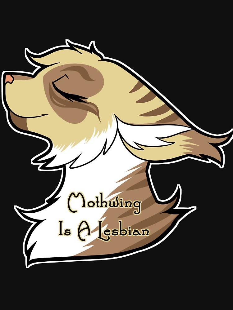 Mothwing is a Lesbian by Draikinator