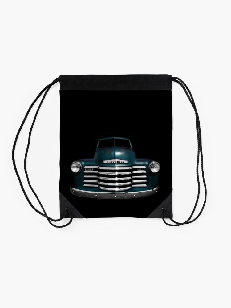 Alternative Ansicht von Chevy 3100 - schwarz Turnbeutel