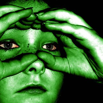 awsome eyes (Hulk style LOL) by SNAPPYDAVE
