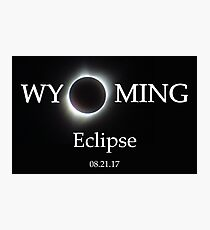 Wyoming Eclipse - Totality Photo Photographic Print
