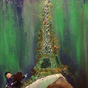 Abandoned Eiffel Tower  by naasirahramjan