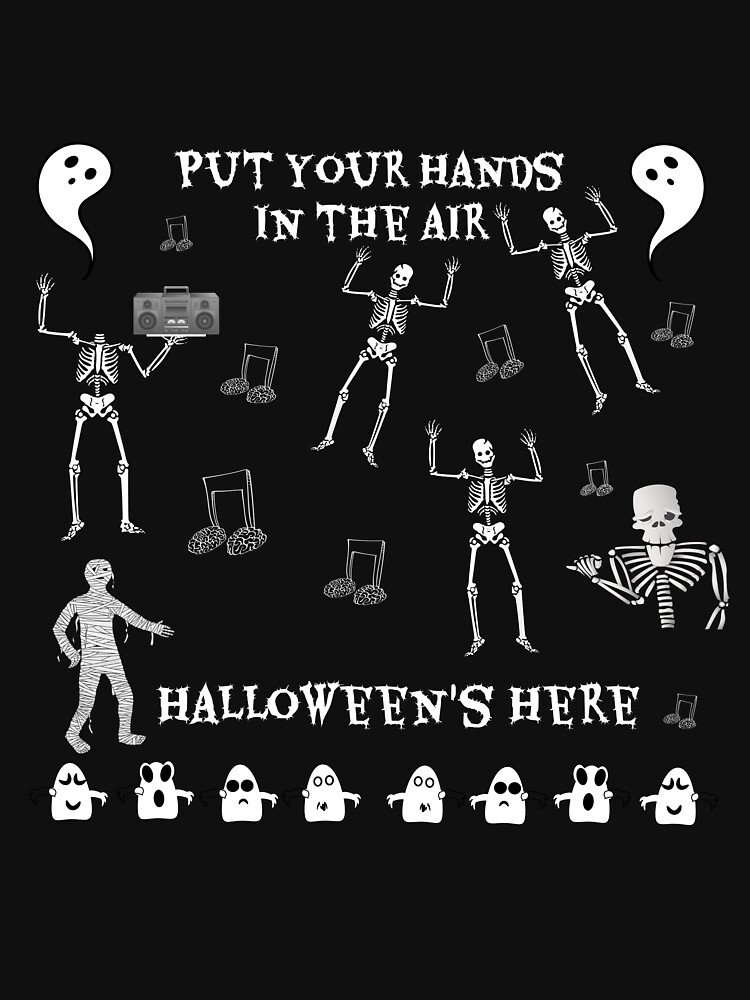 Put your hands in the air, Halloween's Here by DCPCreative