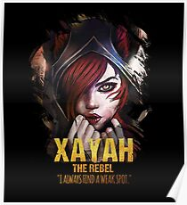 League of Legends XAYAH [The Rebel] Poster