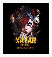 League of Legends XAYAH [The Rebel] Photographic Print