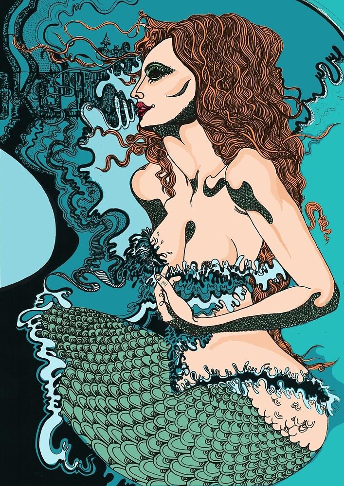Mermaid  by jef-winter