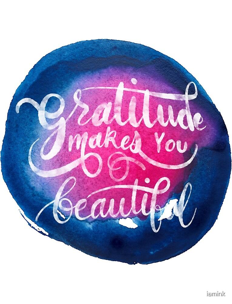 Gratitude by iamink