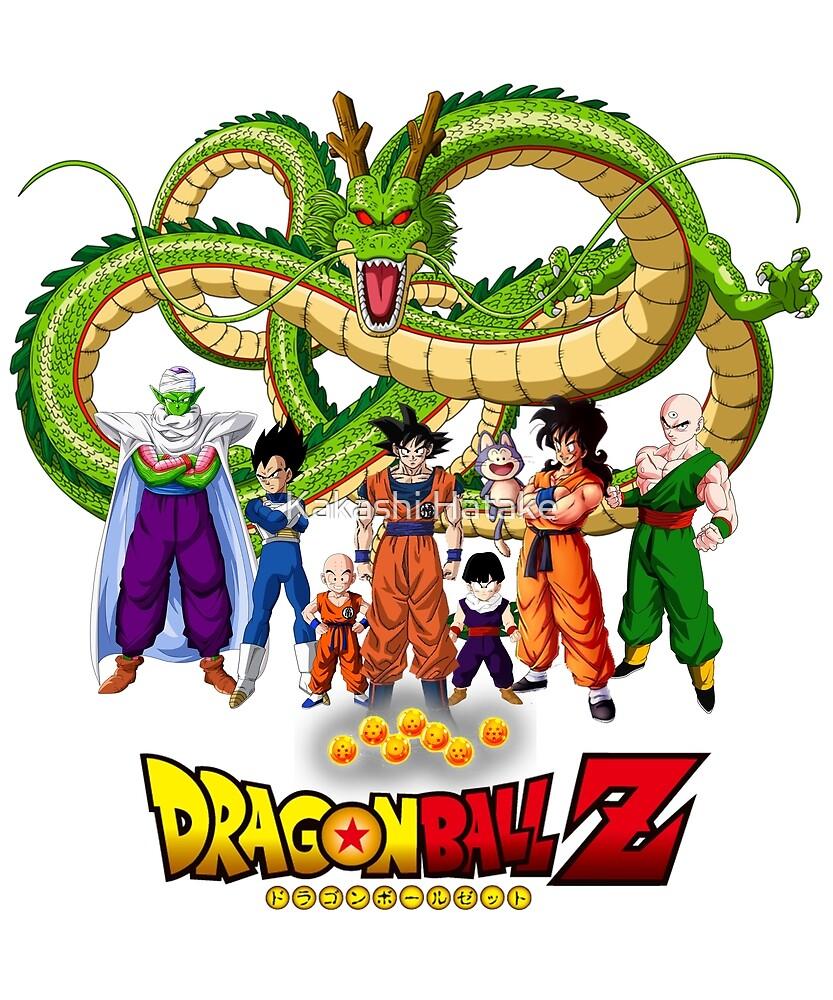 Dragon Ball Z - Shenlong, SonGoku and his Friends by Kakashi Hatake