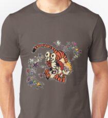 Calvin and Hobbes Wrestling T-Shirt