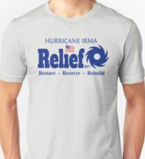 Hurricane Irma Survivor Florida Strong Relief T-shirt Unisex T-Shirt