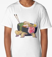 Ramen Tortoise  Long T-Shirt