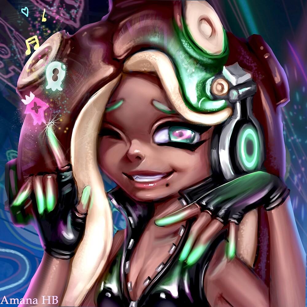 Splatoon Marina by Amana-HB