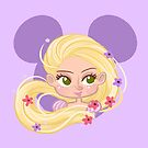 Flowered Princess  by artflea