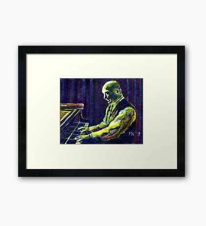 The Music Man. Framed Print