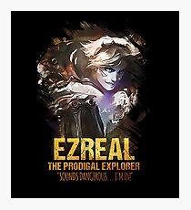 League of Legends EZREAL - The Prodigal Explorer Photographic Print