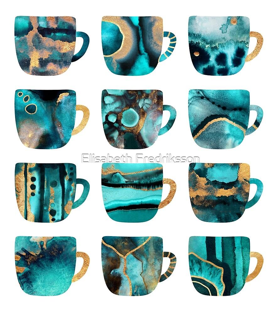 My Favorite Coffee Cups by Elisabeth Fredriksson