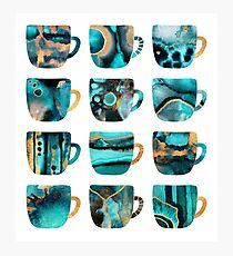 My Favorite Coffee Cups Photographic Print