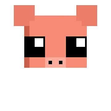 Pixel Pig by JadeVanEdit