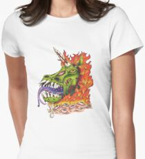 Chester the Monster Unicorn Women's Fitted T-Shirt