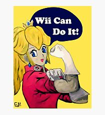 Wii Can Do IT! Photographic Print