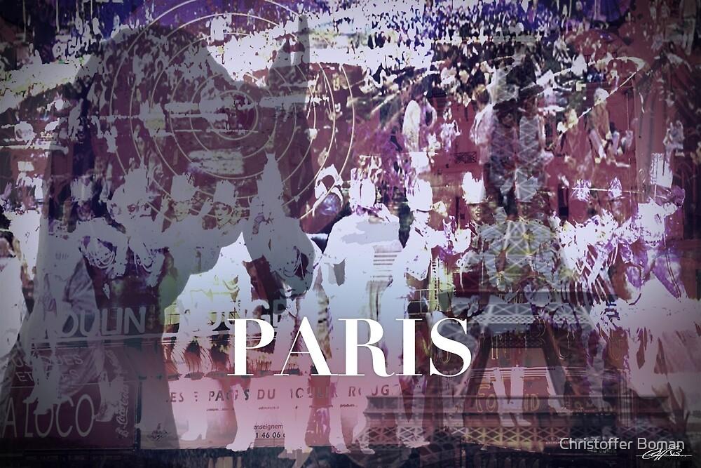 Paris Collage by Christoffer Boman