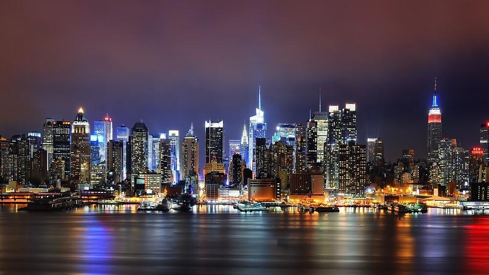 New York Skyline by Harry Fearns