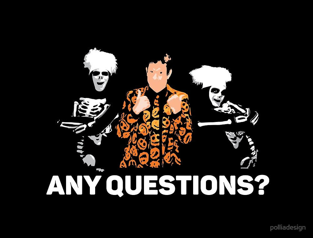 Any Questions? by polliadesign
