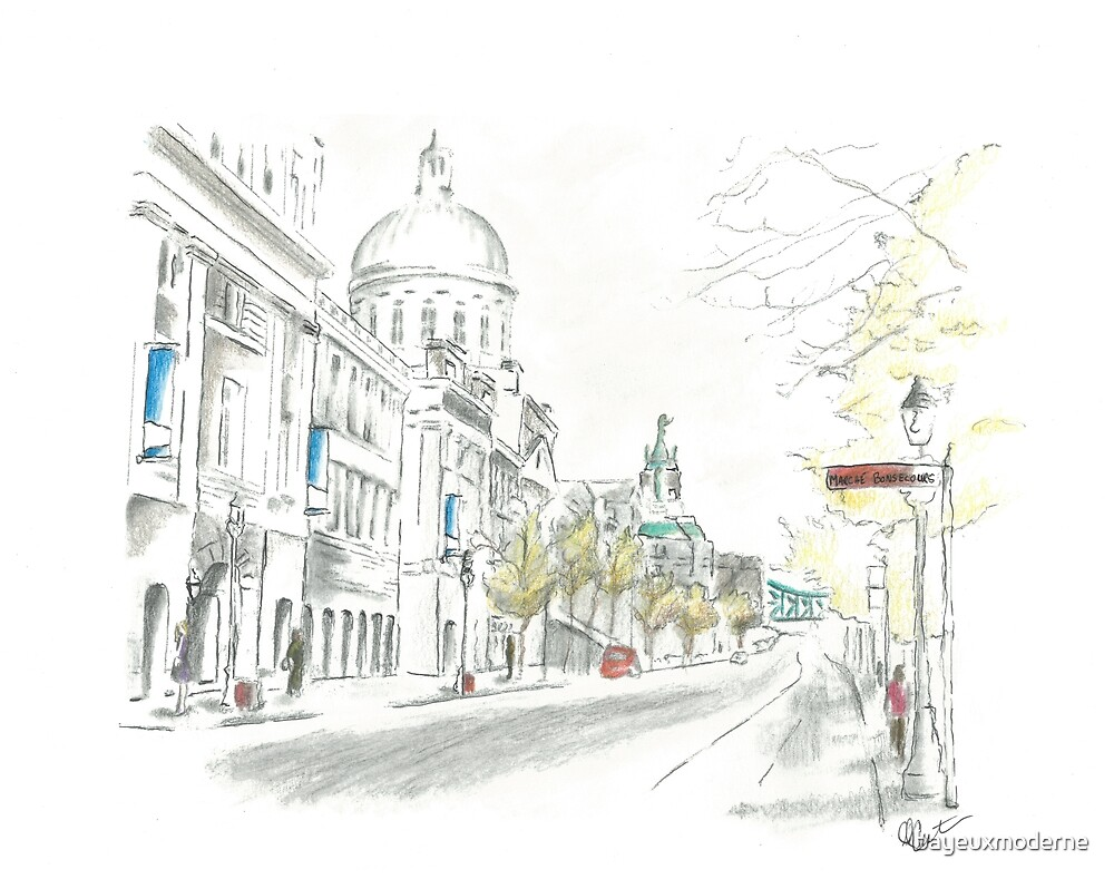 Bonsecours Market, Montreal by bayeuxmoderne