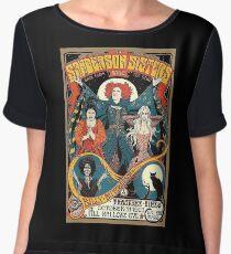 Sanderson Sisters Vintage Tour Poster Women's Chiffon Top