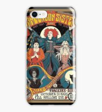 Sanderson Sisters Vintage Tour Poster iPhone Case/Skin