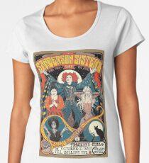 Sanderson Sisters Vintage Tour Poster Women's Premium T-Shirt